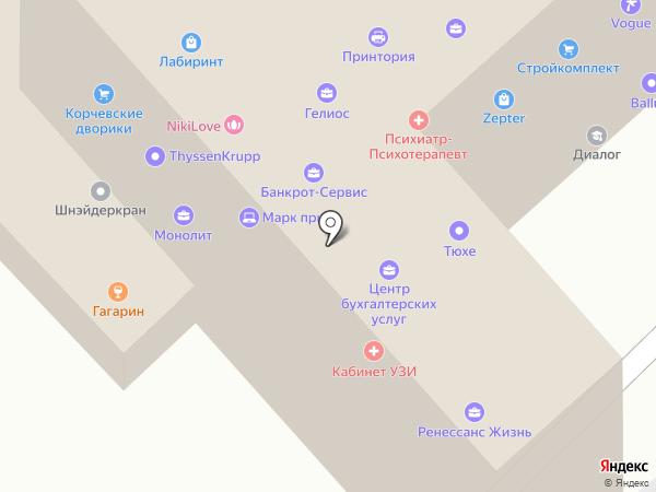 Лайт Коммуникейшн Калуга на карте Калуги