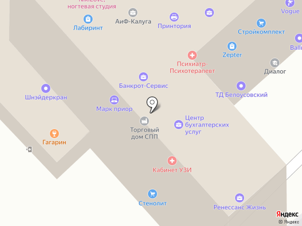 Современные технологии на карте Калуги