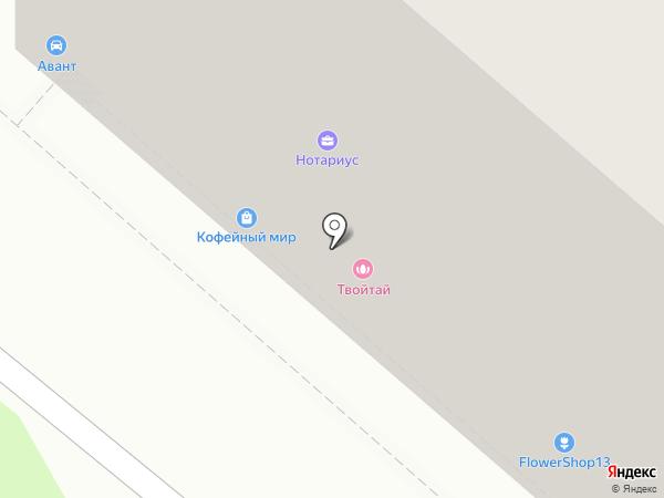 ТАЙСПА на карте Калуги