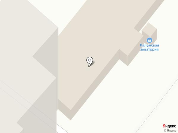 Залы Таис на карте Калуги