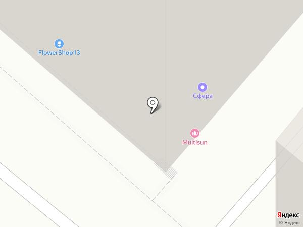 Нотариус Гусева Е.Е. на карте Калуги