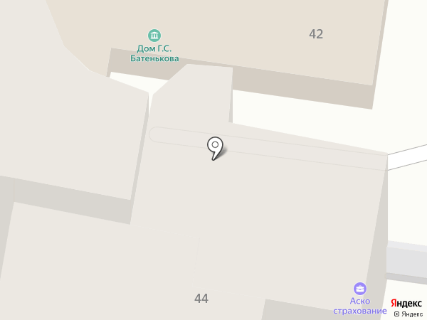 Мемориальный дом Г.С. Батенькова на карте Калуги
