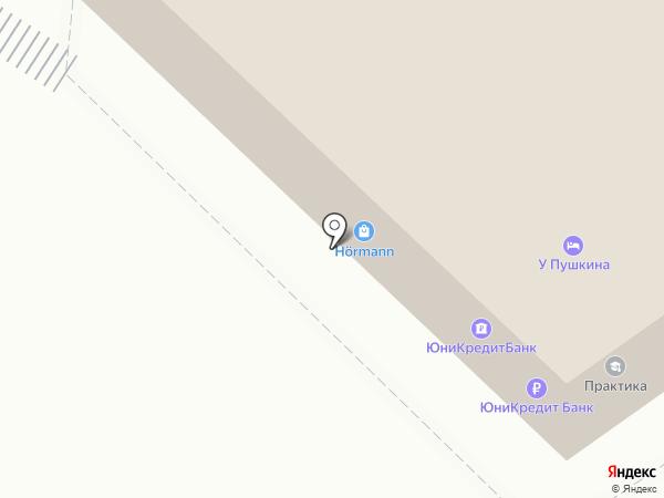 Юникредит банк на карте Калуги