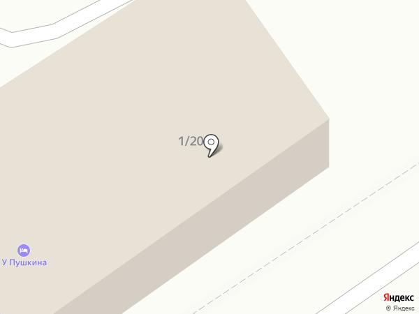 Frame на карте Калуги