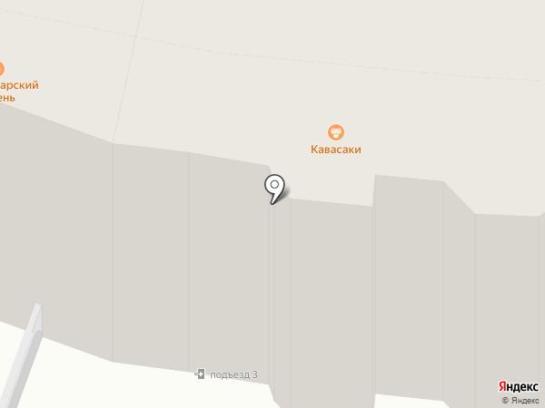 Кавасаки на карте Калуги