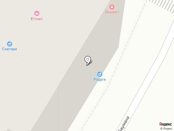 Текстильный магазин на карте Калуги