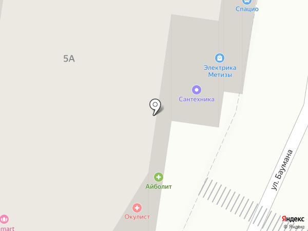 Медцентр Айболит на карте Калуги