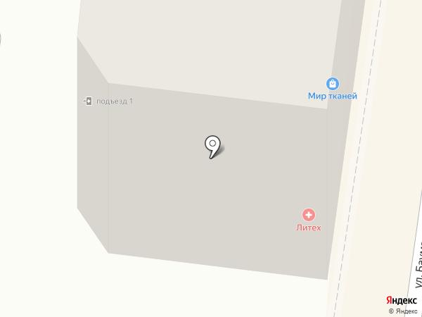 Иман на карте Калуги