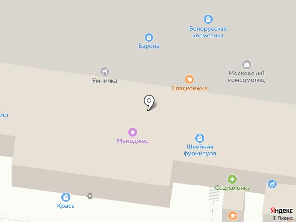Магазин мужской одежды на карте Курска