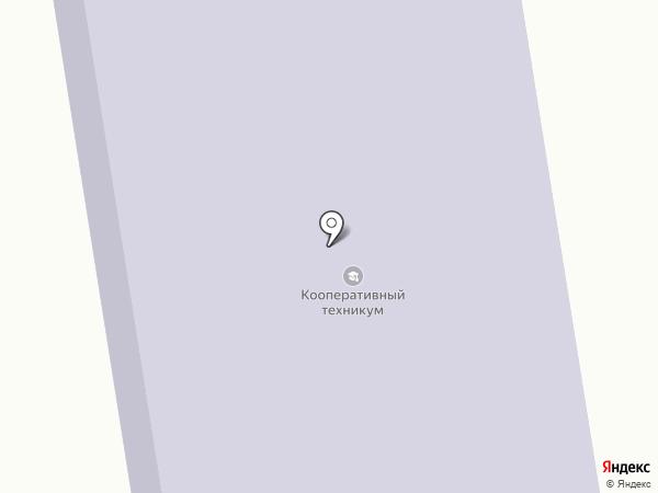 Российский Университет Кооперации на карте Калуги