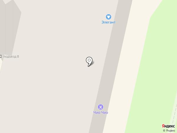 Магазин женского белья и париков на карте Калуги