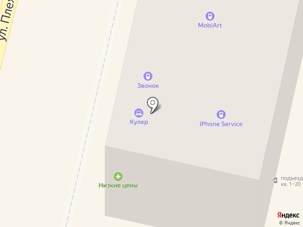 Звонок на карте Калуги
