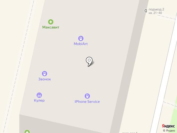 Кулер на карте Калуги