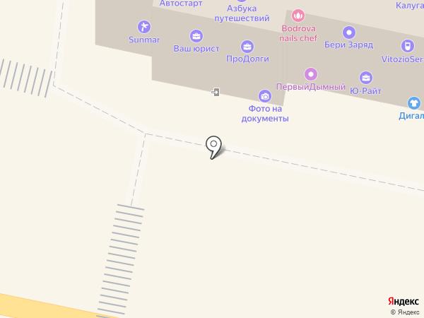 Автостарт на карте Калуги