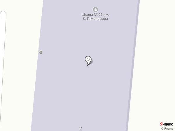 Основная общеобразовательная школа №27 на карте Калуги