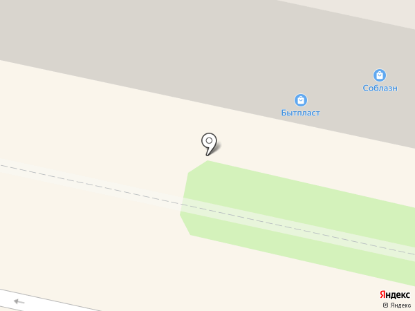 БытПласт на карте Калуги