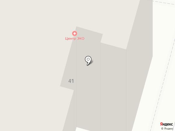 Альтерна на карте Калуги