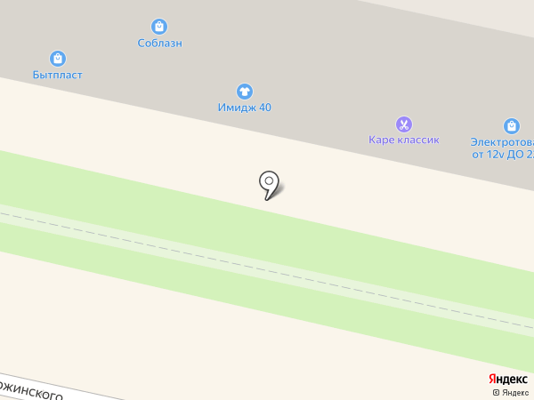 Магазин крепежа на карте Калуги