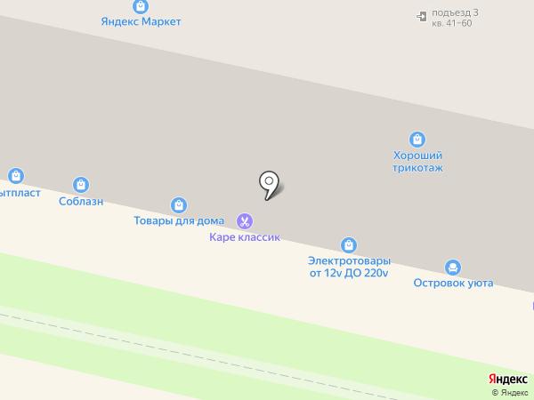 Соблазн на карте Калуги
