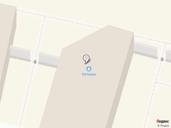 КАТЮША на карте Калуги