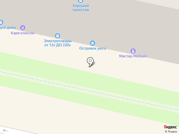 Салон мебели на карте Калуги