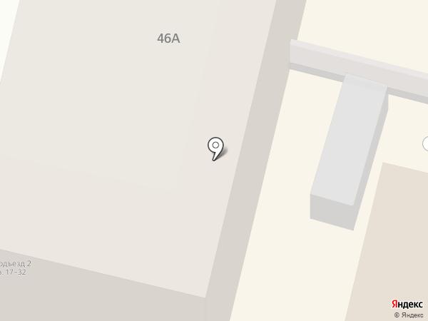 Август на карте Калуги