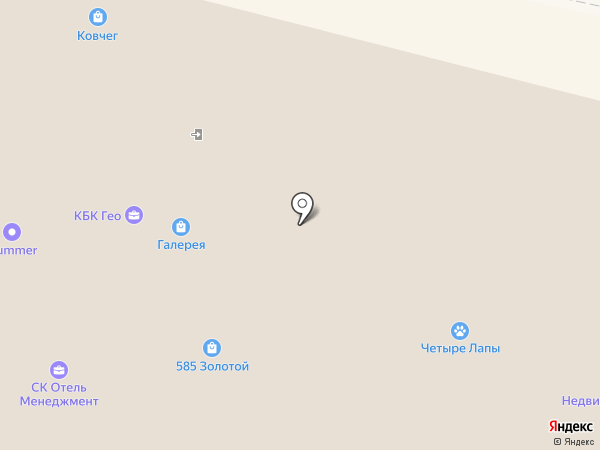 СК Отель Менеджмент на карте Калуги