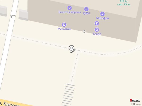 Мегафон ритейл на карте Калуги