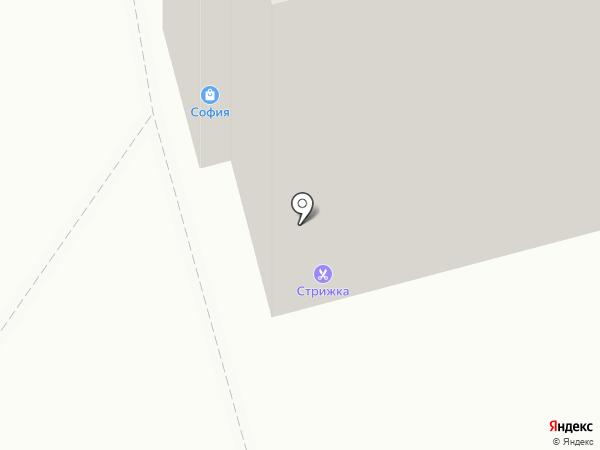 Стрижка на карте Калуги