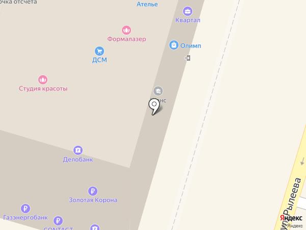 Элкон на карте Калуги