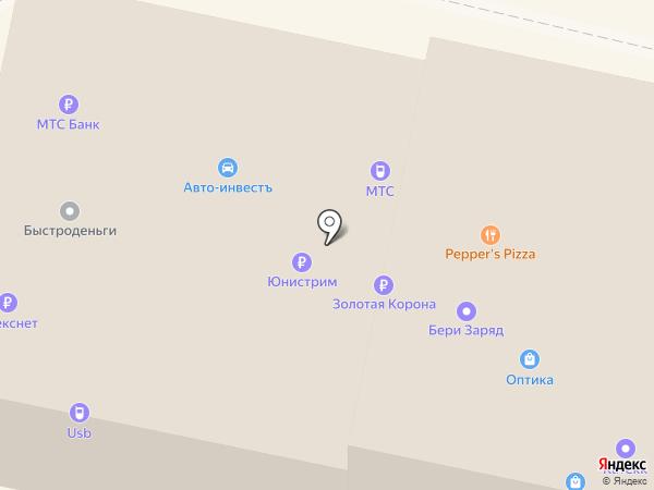 МТС на карте Калуги