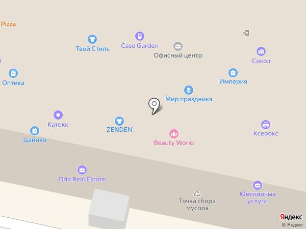 Ювелирная мастерская Бориса Невинного на карте Калуги