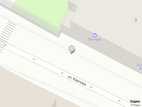 Магазин акустических систем на карте Калуги