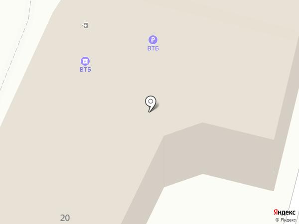 Банк ВТБ на карте Калуги