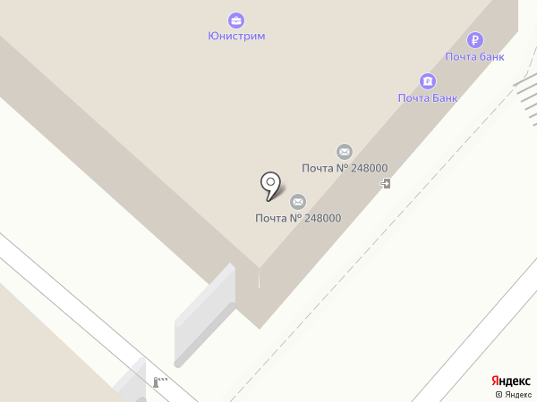 Почта банк, ПАО на карте Калуги