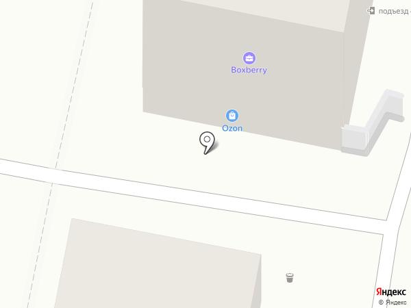 Сатера на карте Калуги