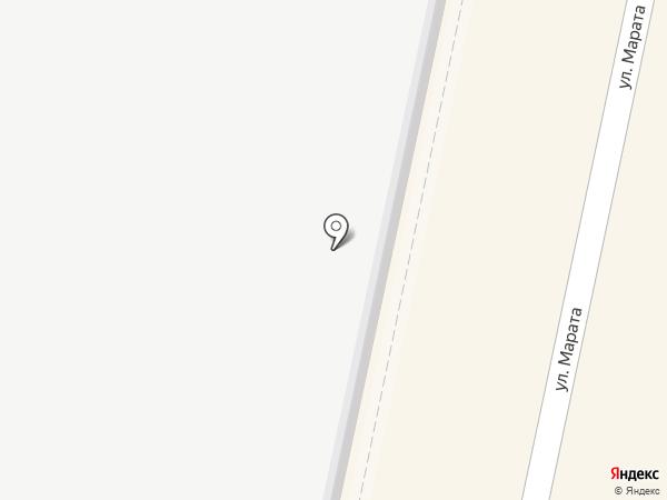 Киоск фастфудной продукции на карте Калуги