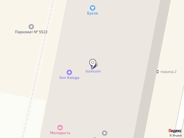 Виталан на карте Калуги