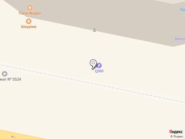 Декорация на карте Калуги