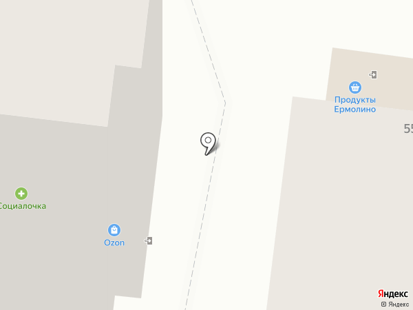 Курская птицефабрика на карте Курска