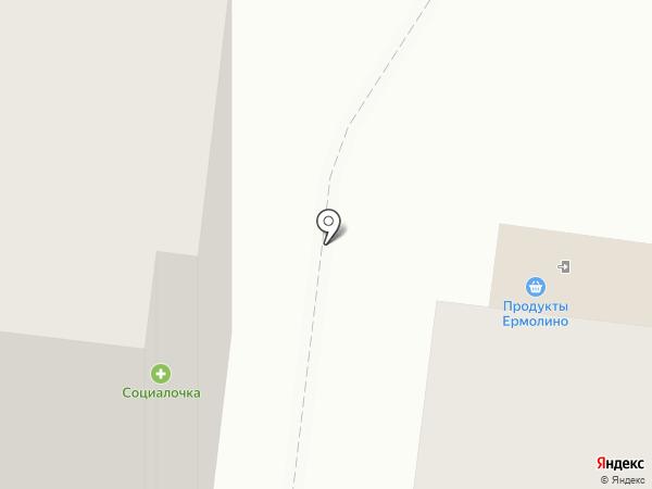 Социалочка на карте Курска