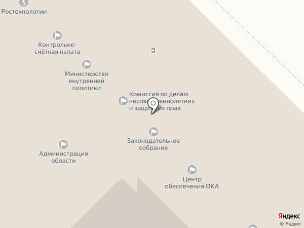 Контрольно-счетная палата Калужской области на карте Калуги