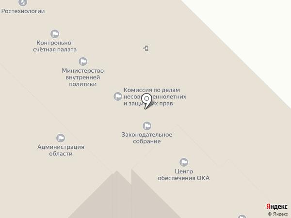 Банкомат, Росбанк, ПАО на карте Калуги