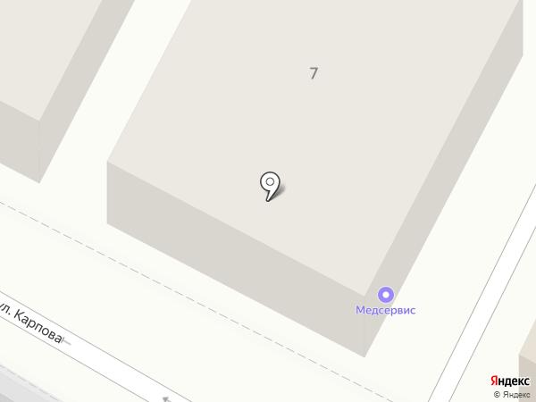 Медсервис на карте Калуги