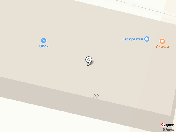 Магазин кухонной и корпусной мебели на карте Калуги