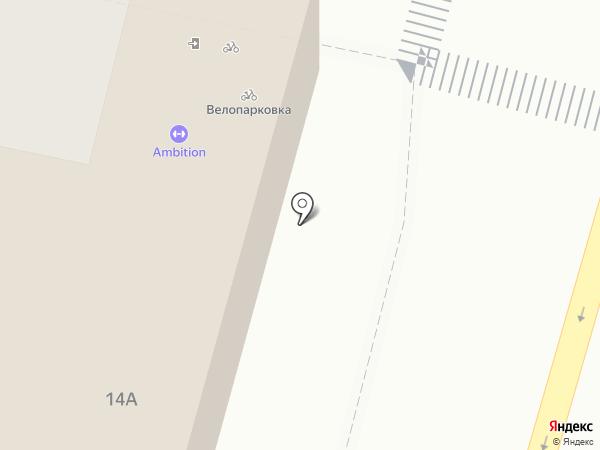 Стелла на карте Калуги