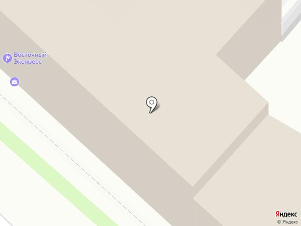 Восточный Экспресс на карте Калуги