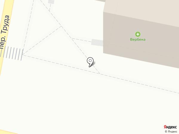Вербена на карте Калуги