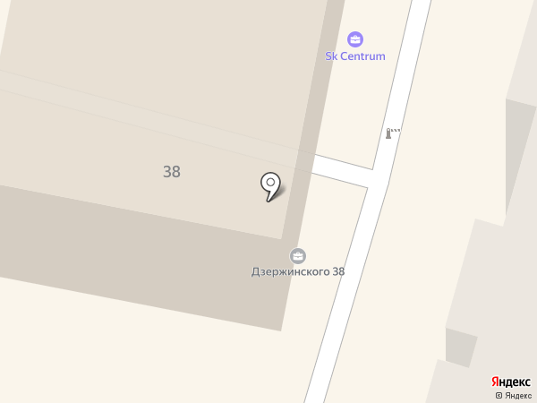 SK Centrum на карте Калуги