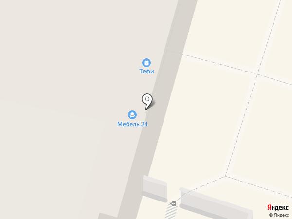 Шторка на карте Калуги
